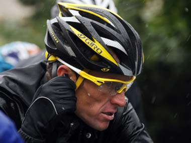 Armstrong isn't going to comeback from this. Reuters