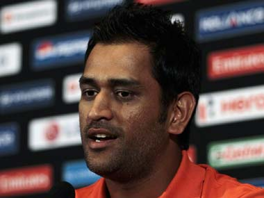 They are calling it Dhoni's ODI. Reuters
