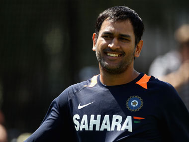 MS Dhoni has become one of India's biggest celebrities. Getty