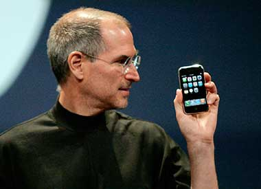 The late Steve Jobs in this file photo. Reuters