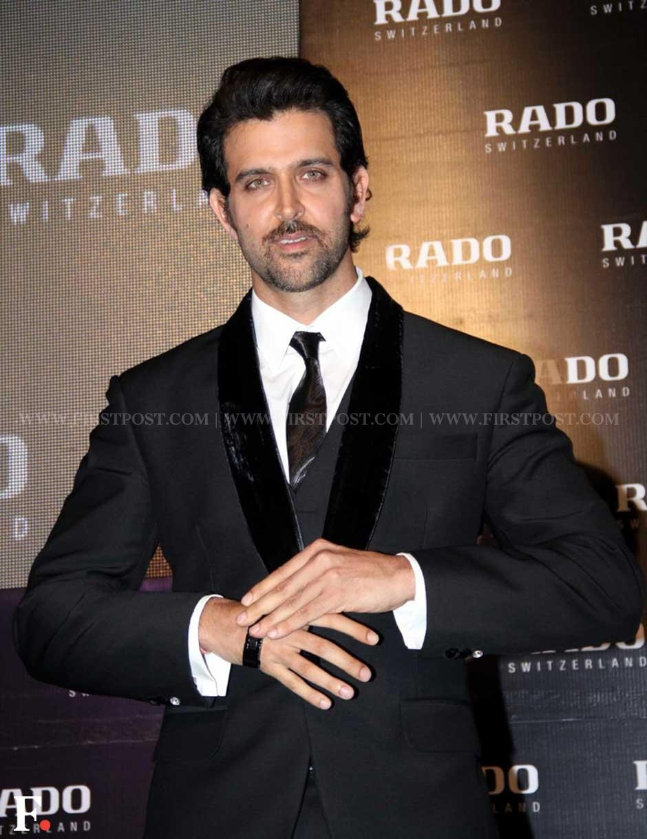 Hrithik Roshan launches watchmaker, RADO's signature collection at the Intercontinental hotel, Mumbai on Tuesday evening. Sachin Gokhale/Firstpost