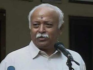 RSS chief criticised for rapes happen in India not Bharat comment