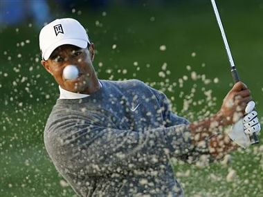 Tiger Woods had a superb tournament. Reuters