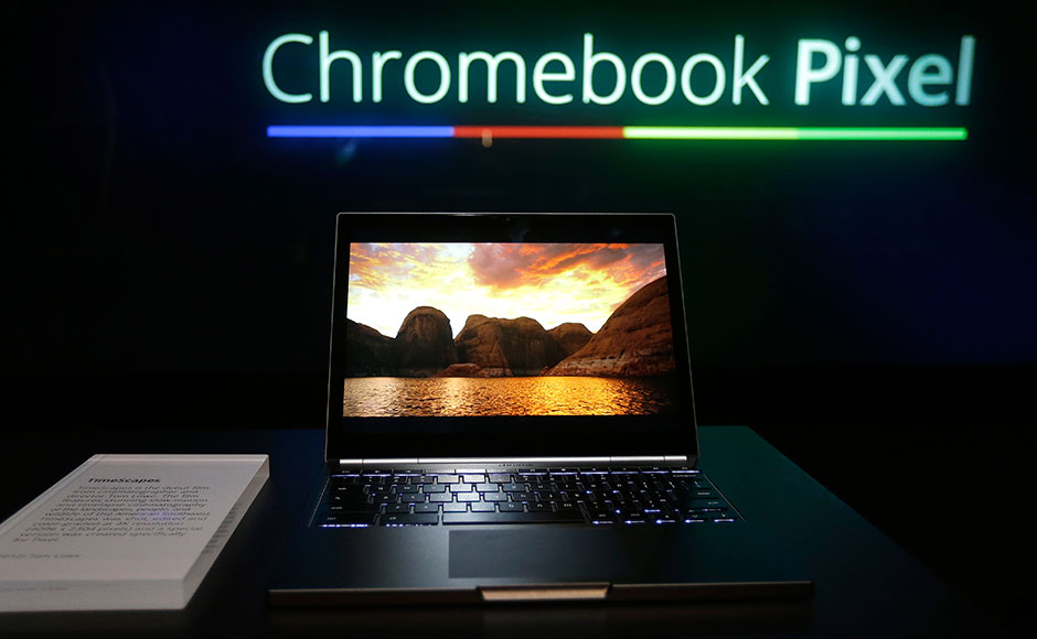 Images: Google's touch-enabled Chromebook Pixel sets tech world abuzz