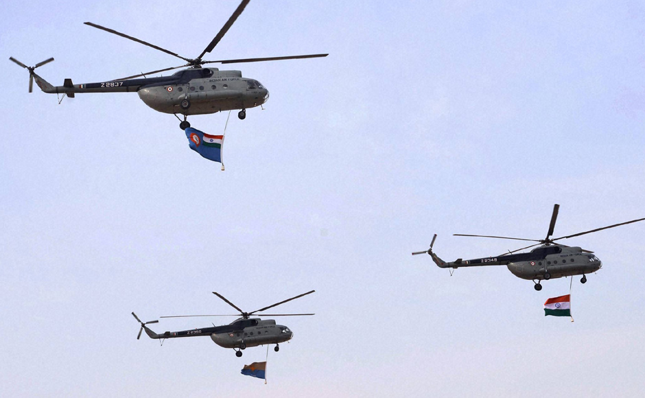 Images: Pokhran sky comes alive with Indian Air Force's 'Iron Fist'