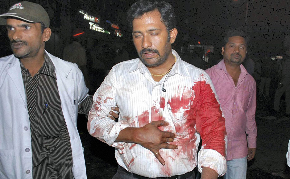 Hyderabad blast images: Scenes of wreckage as toll climbs to 14