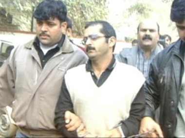 Afzal Guru in this file photo. Screengrab from IBN-Live