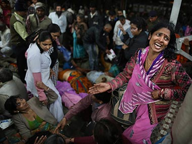 The stampede at Allahabad station is a symbol of mishandling crowds. AP