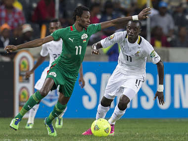 Burkina Faso -- the underdogs, are in the African Cup of Nations finals. Getty Images