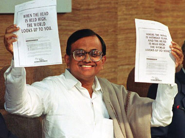 Chidambaram better off without a speech? AFP