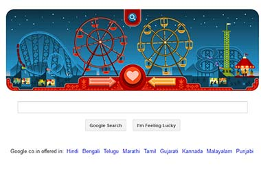 Google Doodle for today. Happy Valentine's Day.