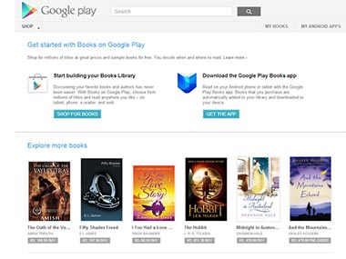 Screengrab of Google Play Books.