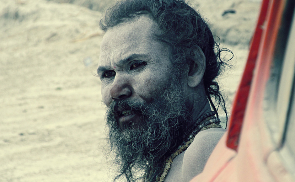 A Naga Sadhu at Maha Kumbh. Held every 12 years, the fair is considered one of the largest gatherings of people on earth. Danish Raza/ Firstpost