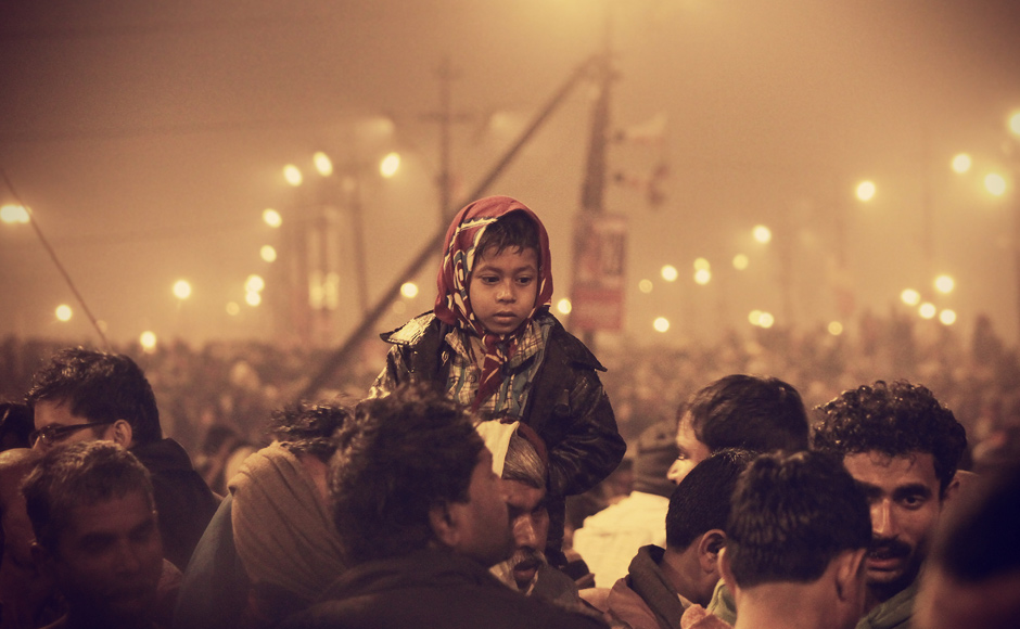 You cannot walk past them without looking at some of their expressionless faces. Trilok Sengupta