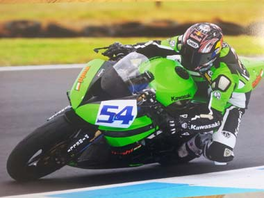 Kenan Sofuoglu. Mahi Racing Team.