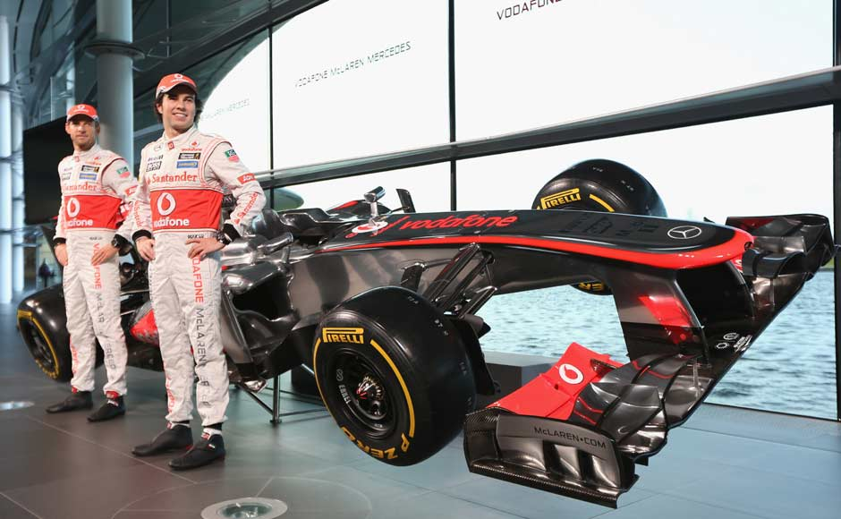 McLaren's Mercedes-powered MP4-28. Jenson Button acknowledged that the new car had superficial similarities to last year's model, but said there had been enormous changes in the design. Getty Images
