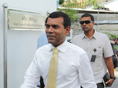 Nasheed leaves Indian embassy India and Maldives welcome decision