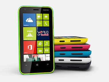 Nokia Lumia 620. Image from the website.