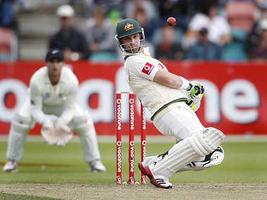 Hughes is confident of his technique against pace and spin. Reuters