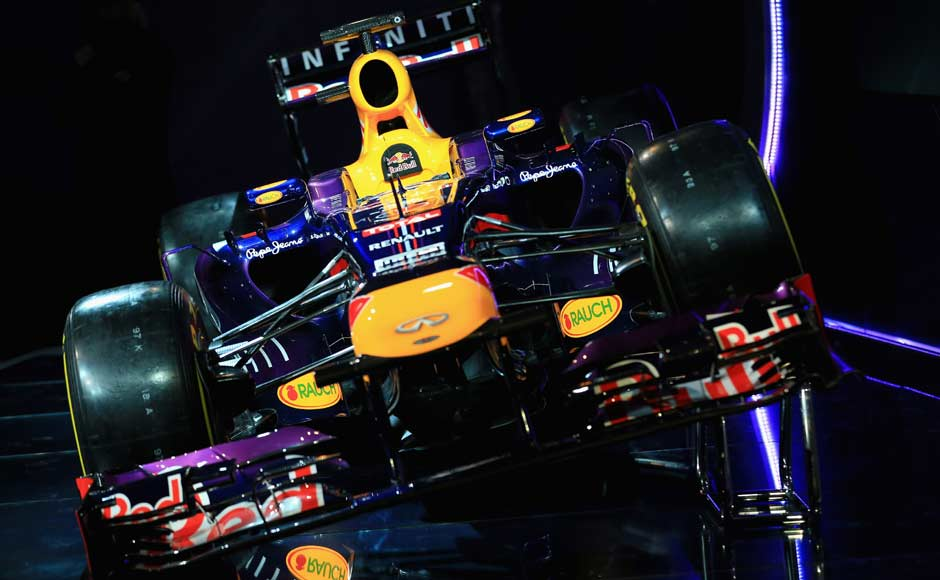 Red Bull's RB9 — designed by a team led by Adrian Newey, who said at the end of last year that it was getting harder and harder to find gains for the 2013 car given the rules stability. The team is aiming for a fourth consecutive constructor's championship. Getty Images