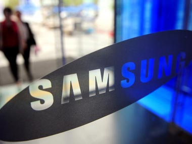 Samsung logo is seen in this file photo. AFP