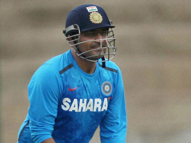 Virender Sehwag might sport a pair of glasses against Australia. PTI