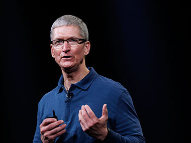 Tim Cook in this file photo. Reuters