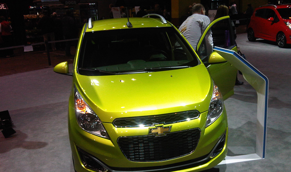 Chevy Spark. George Albert/Firstpost