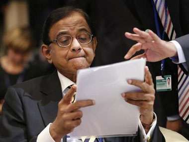 Foreign investors are nervous of the fine print in  P Chidambaram's Budget.