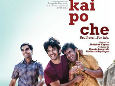 Kai Po Che's music seems to fit seamlessly into the film. Image courtesy: Facebook