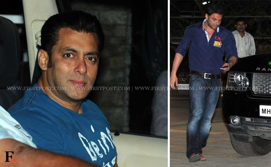 Images: Wednesday night party with the Khans