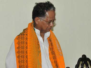 Assam Chief Minister Tarun Gogoi. Image courtesy PIB
