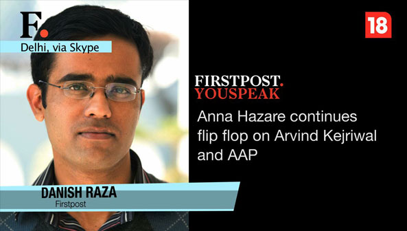 Anna Hazare is on his way to a credibility crisis