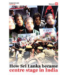 How Sri Lanka became centre stage in India