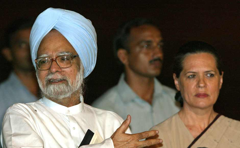 Despite being voted party chief after the electoral victory, Sonia Gandhi decided not to become the party's prime ministerial candidate after massive protests by the BJP. Despite pleas from Congress activists, Sonia refused to take up the post, picking former finance minister Manmohan Singh instead. Singh flanked by Congress party chief Sonia Gandhi speaks to the media after he met with Indian President A. P. J. Abdul Kalam on May 19, 2004. Reuters