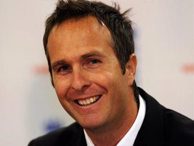 File picture of Michael Vaughan. AFP