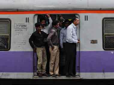 The injured persons were standing near the door of the train. Reuters