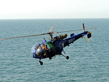 Indian Navys Chetak helicopter crashlands during training sortie at INS Rajali in Tamil Nadu no casualties reported