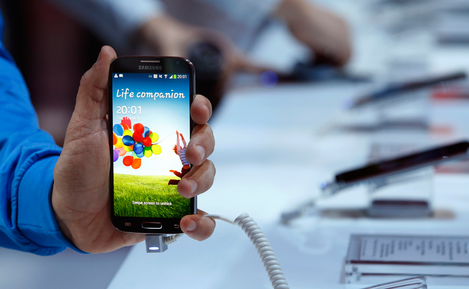 Samsung has just launched its flagship device the Galaxy S 4 at an event in New York. Reuters