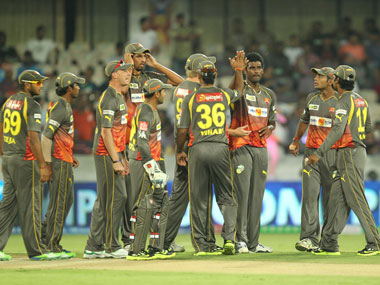 Hyderabad Sunrisers did brilliantly to win their first match. BCCI