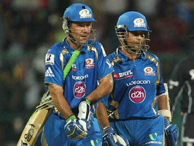 Ponting and Sachin opened the innings for MI. BCCI