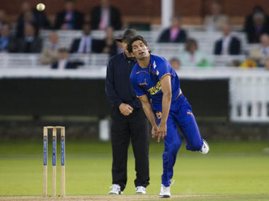 Sohail Tanvir featured in the first edition of the IPL for Rajasthan Royals. AFP