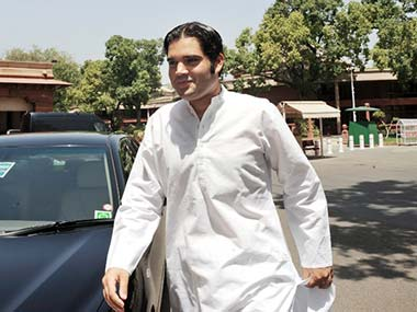 Varun Gandhi taken on his more visible cousin in the next elections? AFP