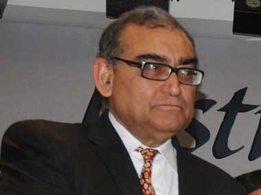 New role for Justice Katju? Reuters