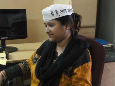 Moushree Guha, one of the aspirants for a AAP ticket. Danish Raza/ Firstpost