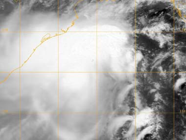 This image provided by the Naval Research Lab shows tropical cyclone Mahasen taken Wednesday May 15, 2013 at 0600 GMT. AP