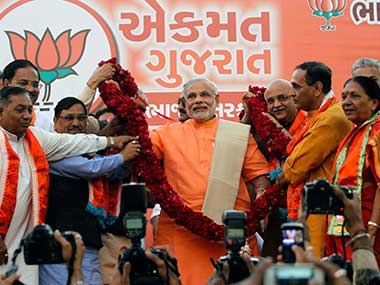 Three polls one message No alternative to Modi for BJP