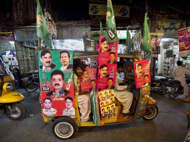 Internal turmoil continues in Pakistan after polls. AFP