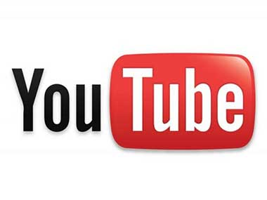 Screengrab of YouTube logo in this file photo.