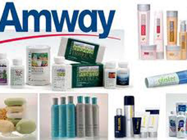 Why Amway case is similar to a ponzi scheme